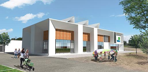 Salón usos múltiples y oficinas VIBRA