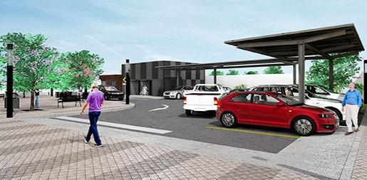 Remodelación estacionamiento SAPAL