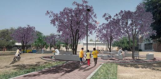 Rehabilitación 4 Plazas Públicas