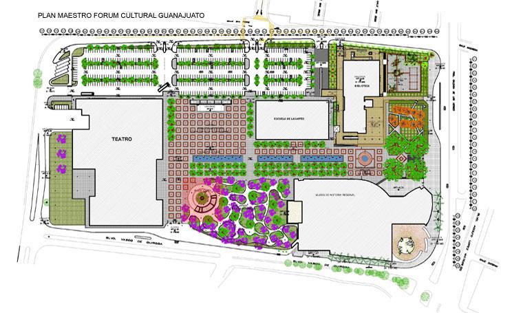 Resultado de imagen para planos del forum cultural guanajuato