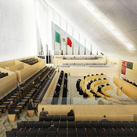 Adecuación nuevo Congreso del Estado de Guanajuato