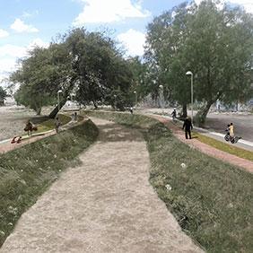 Parques lineales Medina y Alfaro